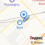 Miracle на карте Комсомольска-на-Амуре