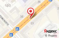 Схема проезда до компании Конком в Комсомольске-На-Амуре