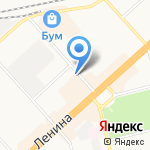 Колымская на карте Комсомольска-на-Амуре