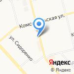 ЭКОСТРОЙ на карте Комсомольска-на-Амуре