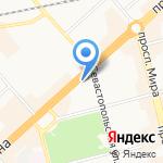 Faberlic на карте Комсомольска-на-Амуре