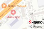 Схема проезда до компании Канцлер в Комсомольске-на-Амуре