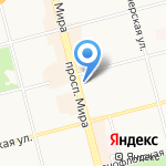 Санвэй на карте Комсомольска-на-Амуре