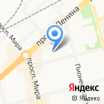 Открытие на карте Комсомольска-на-Амуре