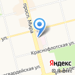 Любимое мыло на карте Комсомольска-на-Амуре