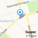 Chocolate на карте Комсомольска-на-Амуре