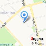 IMPULSE на карте Комсомольска-на-Амуре