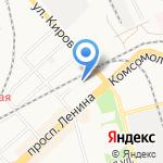 Нормаль на карте Комсомольска-на-Амуре