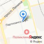 Модерн на карте Комсомольска-на-Амуре
