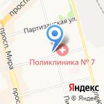 Информ ДВ на карте Комсомольска-на-Амуре