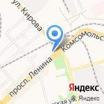 Эльф на карте Комсомольска-на-Амуре