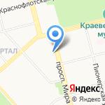 Центральная городская детская библиотека им. А.М. Горького на карте Комсомольска-на-Амуре