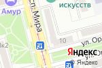 Схема проезда до компании Медсервис в Комсомольске-на-Амуре