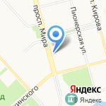 Техноавиа на карте Комсомольска-на-Амуре