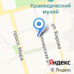 Эколого-биологический центр на карте Комсомольска-на-Амуре