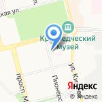Комитет по управлению имуществом на карте Комсомольска-на-Амуре