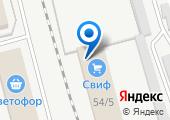 СВИФ на карте