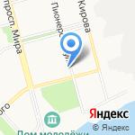 Коллегия адвокатов Комсомольского района на карте Комсомольска-на-Амуре