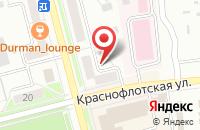 Схема проезда до компании Верона в Комсомольске-На-Амуре