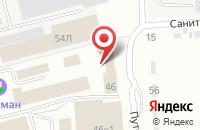 Схема проезда до компании Востокреклама в Комсомольске-На-Амуре