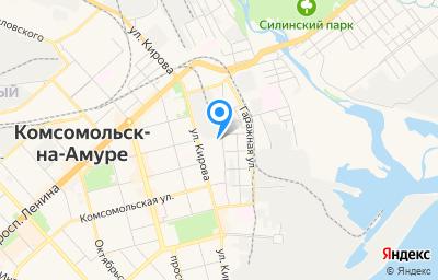 Местоположение на карте пункта техосмотра по адресу Хабаровский край, г Комсомольск-на-Амуре, ул Кирова, д 46, пом 1002