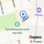 Шестое чувство на карте Комсомольска-на-Амуре