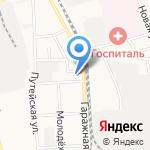 Церковь Евангельских христиан-баптистов на карте Комсомольска-на-Амуре