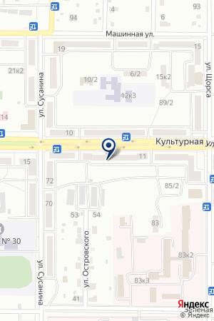 АПТЕКА № 109 ФАРМАЦИЯ на карте Комсомольска-на-Амуре
