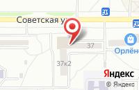 Схема проезда до компании Мега-Ценр в Комсомольске-На-Амуре