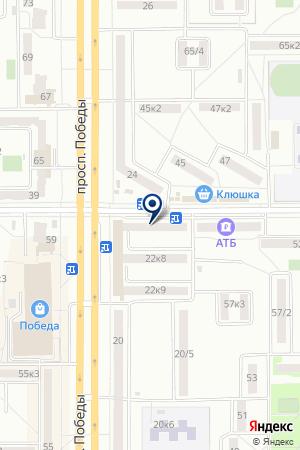 АПТЕКА № 181 ФАРМАЦИЯ на карте Комсомольска-на-Амуре