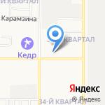 АВГУСТ на карте Комсомольска-на-Амуре