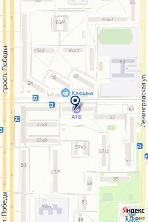 АЗИАТСКО-ТИХООКЕАНСКИЙ БАНК на карте Комсомольска-на-Амуре
