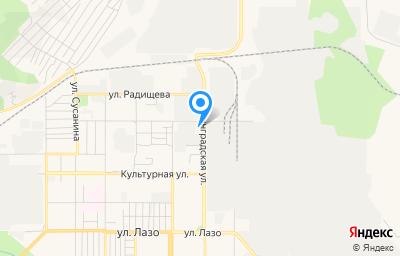 Местоположение на карте пункта техосмотра по адресу Хабаровский край, г Комсомольск-на-Амуре, ул Ленинградская, д 107, пом 1005