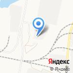 Теплоцентраль на карте Комсомольска-на-Амуре