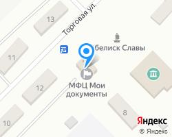 Схема местоположения почтового отделения 681076