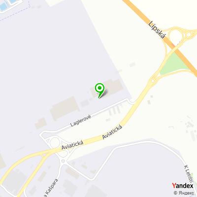 Dopravní společnost Skyport na mapě