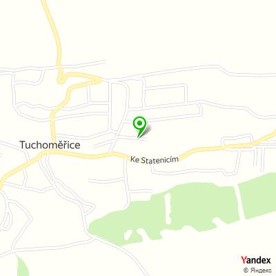 Fotbalový klub Tělocvičná jednota Sokol Tuchoměřice na mapě