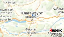 Отели города Клагенфурт-ам-Вёртерзе на карте