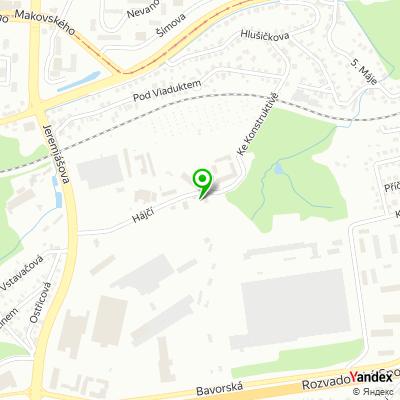 Obchodně stavební společnost Trumf na mapě