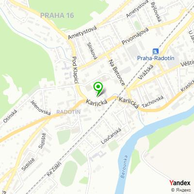 Úřad městské části, Praha 16 na mapě