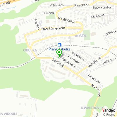 Společnost AA lešenářský servis, s.r.o. na mapě