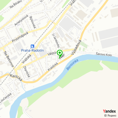 Pečovatelská agentura Radotín na mapě