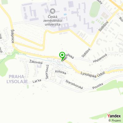 Obchodní společnost Velaz na mapě
