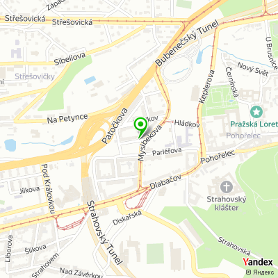 Kolej Komenského, Univerzita Karlova na mapě