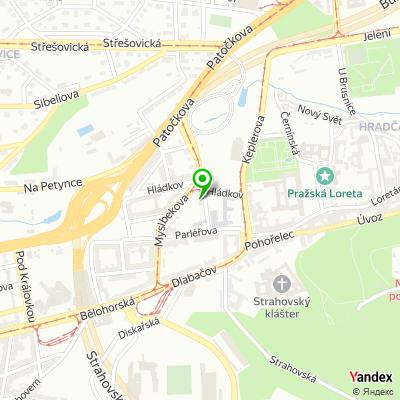 Základní umělecká škola, Praha 6 na mapě