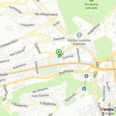 Státní podnik Povodí Vltavy na mapě