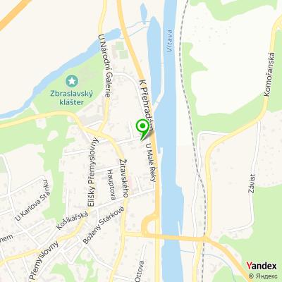 Zbraslavské noviny na mapě