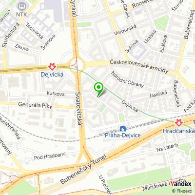 Dětské hudební studio Mix na mapě