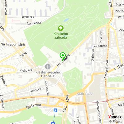 Společnost PROPSOL na mapě