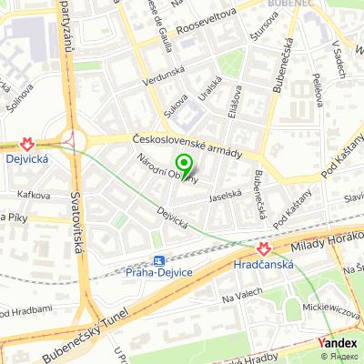 Obchod Nana Vogue na mapě